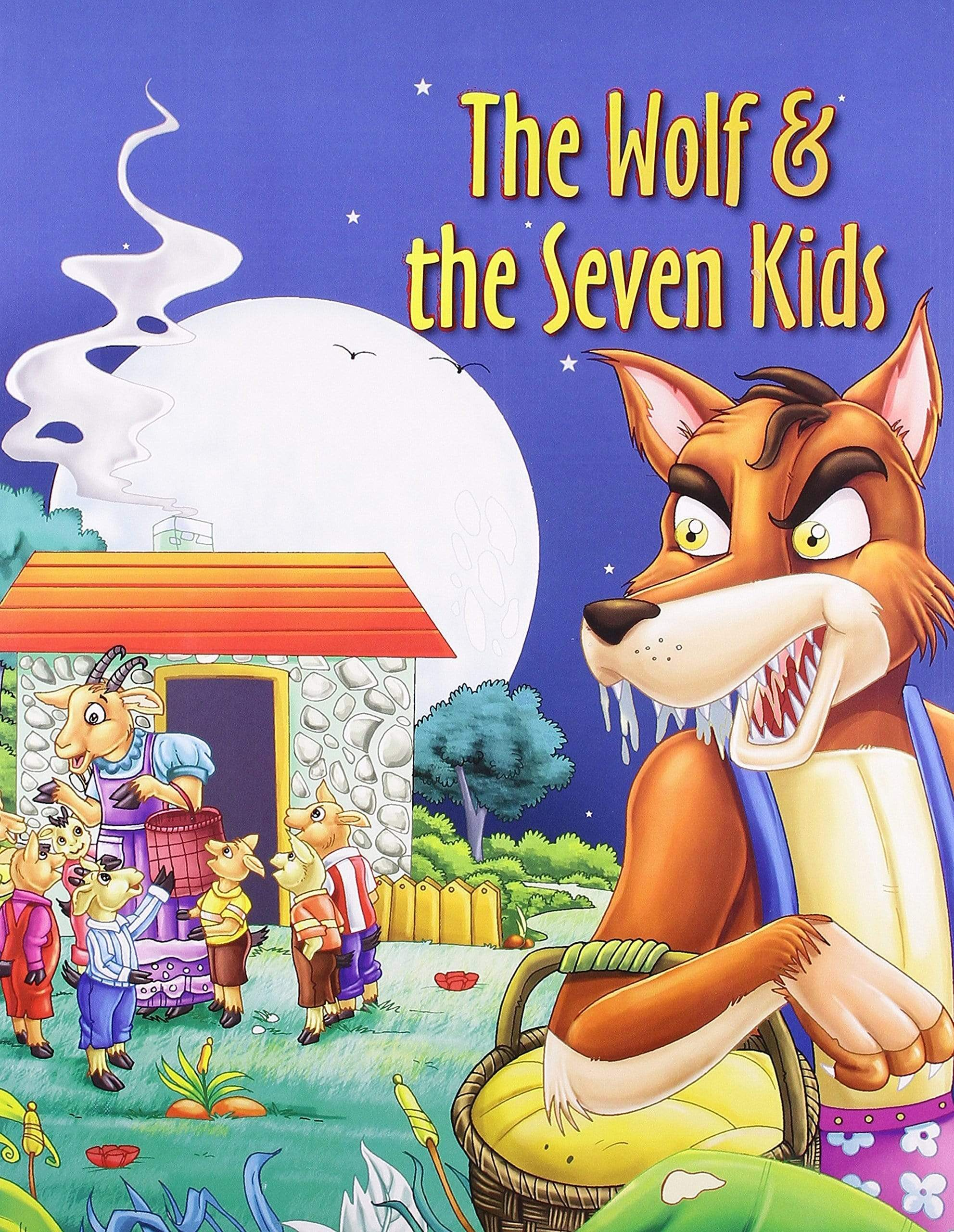 The Wolf & The Seven Kids (Bedtime Stories)