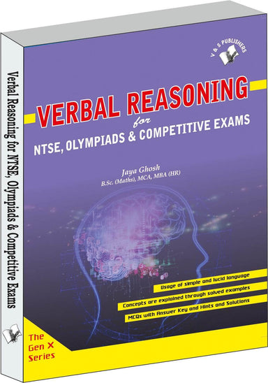 Buy Verbal Reasoning Book Online at Low Prices in India | Bookish Book V & S Publications 9789350579220