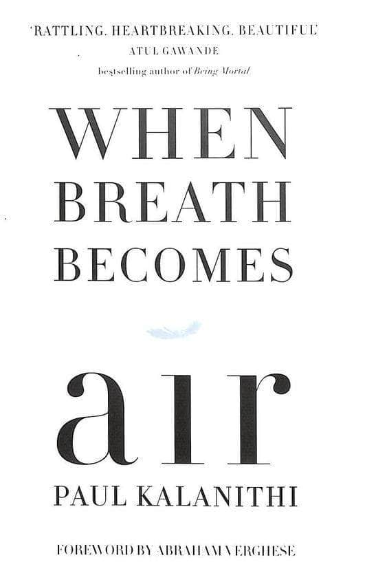 Buy When Breath Becomes Air Book Online at Low Prices in India | Book Prakash Books