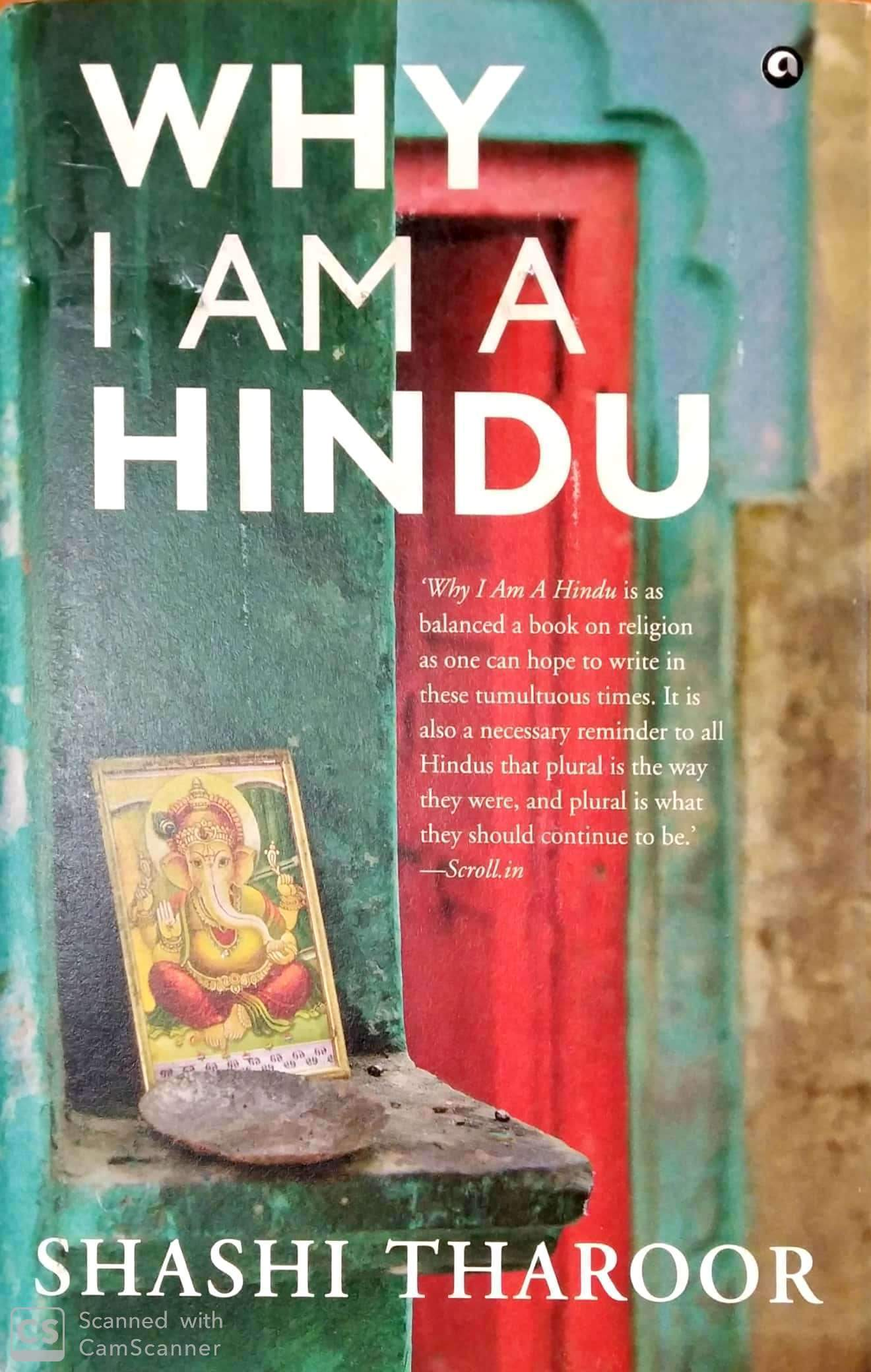 Why I am a Hindu (Hardcover Edition)