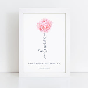 Personalised Home Wall Art Print