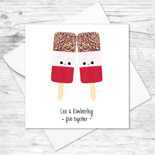 Personalised Fab Together Card