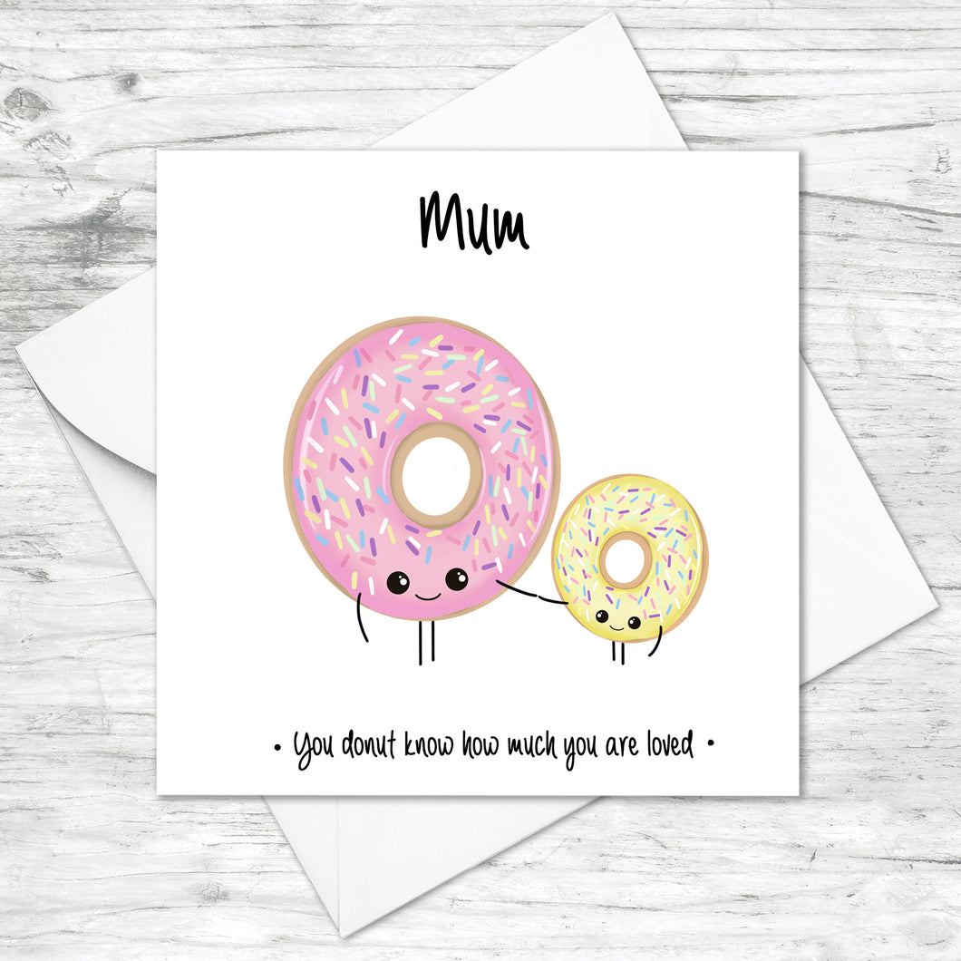 Personalised Donut Card