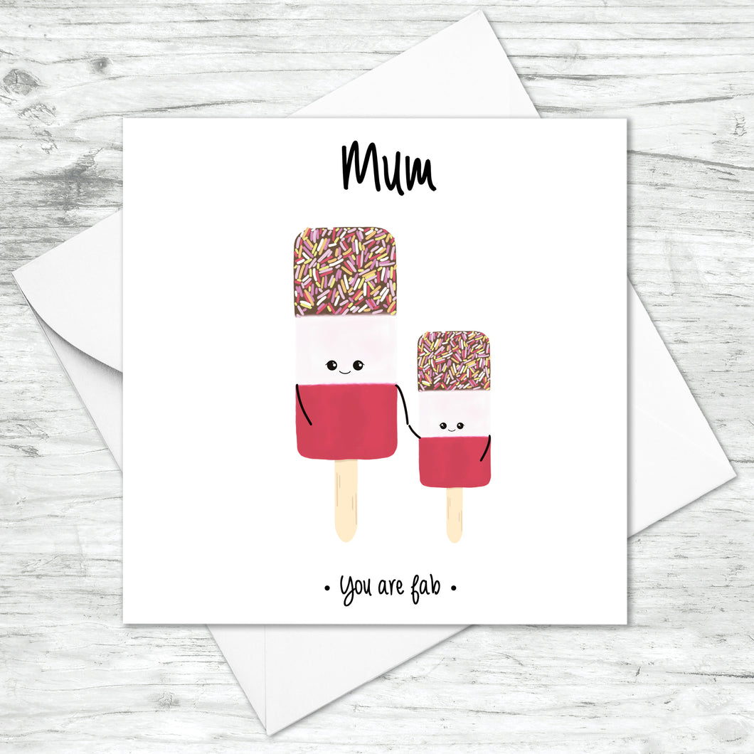 Personalised You're Fab Card