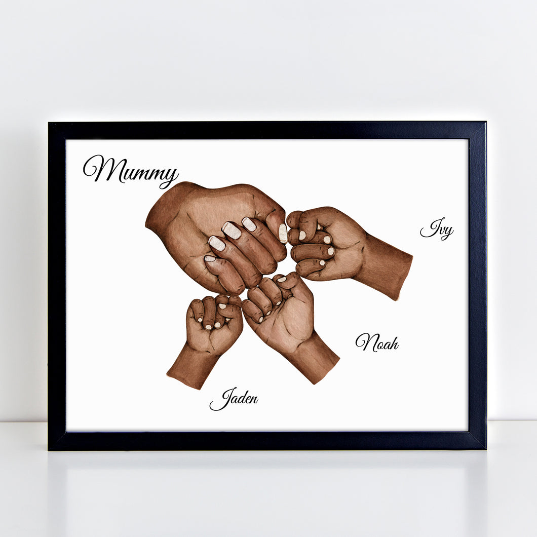 Personalised Mummy Print