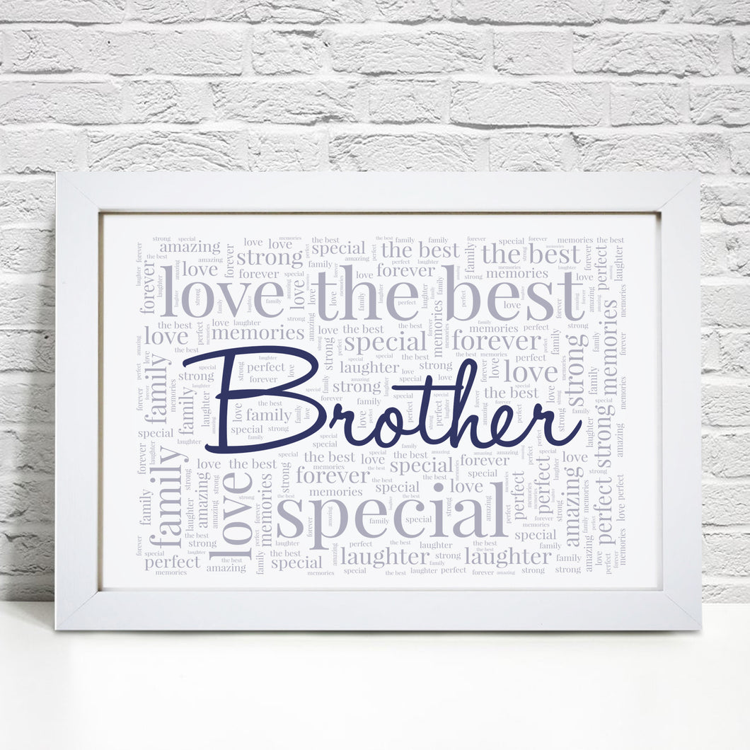 Personalised Brother Print
