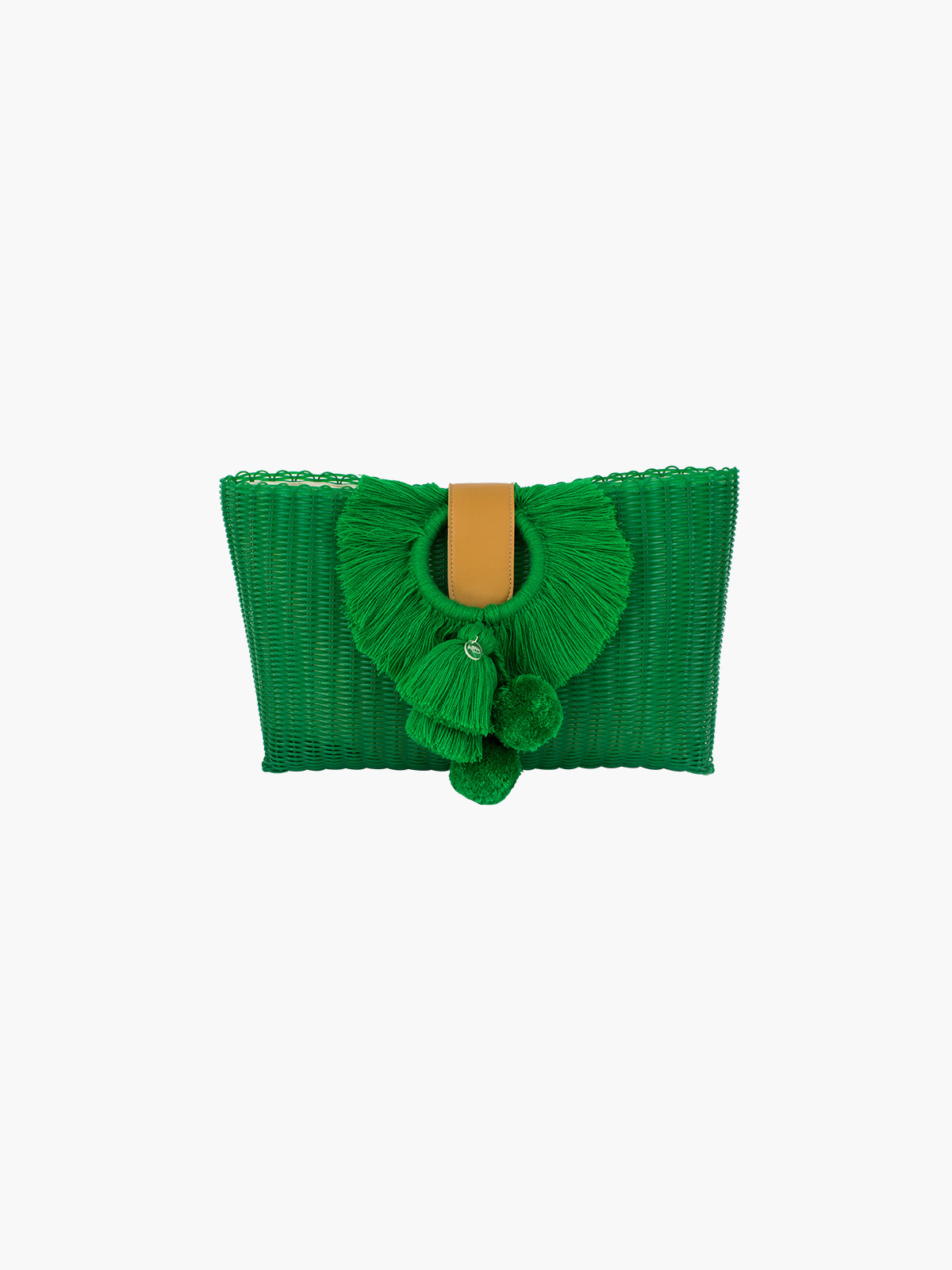 Tonati Oversized Clutch | Green