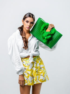 Tonati Oversized Clutch | Green Tonati Oversized Clutch | Green