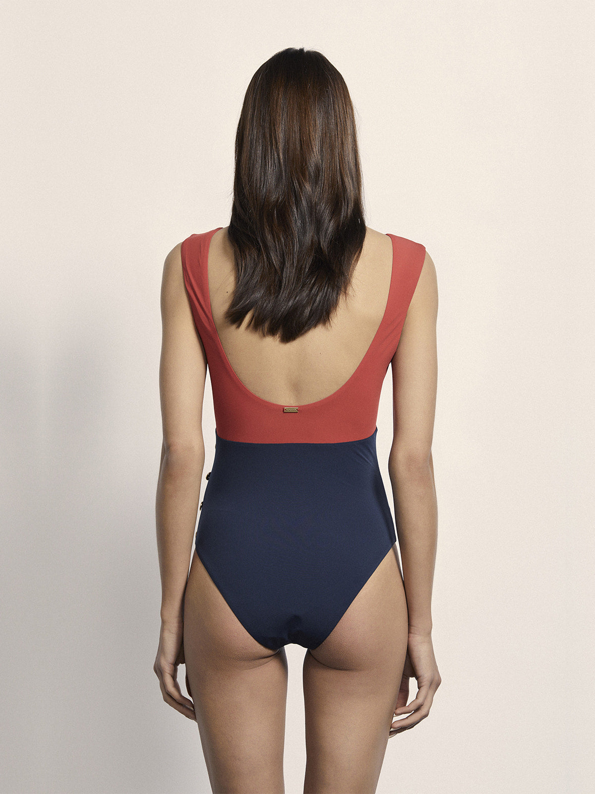 Ophelia Maillot | Rouge/Navy