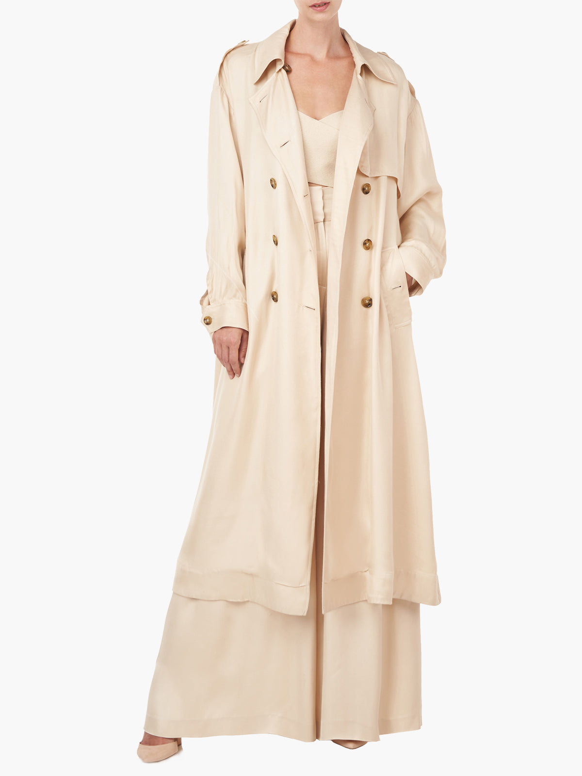 Althea Trench Coat Althea Trench Coat