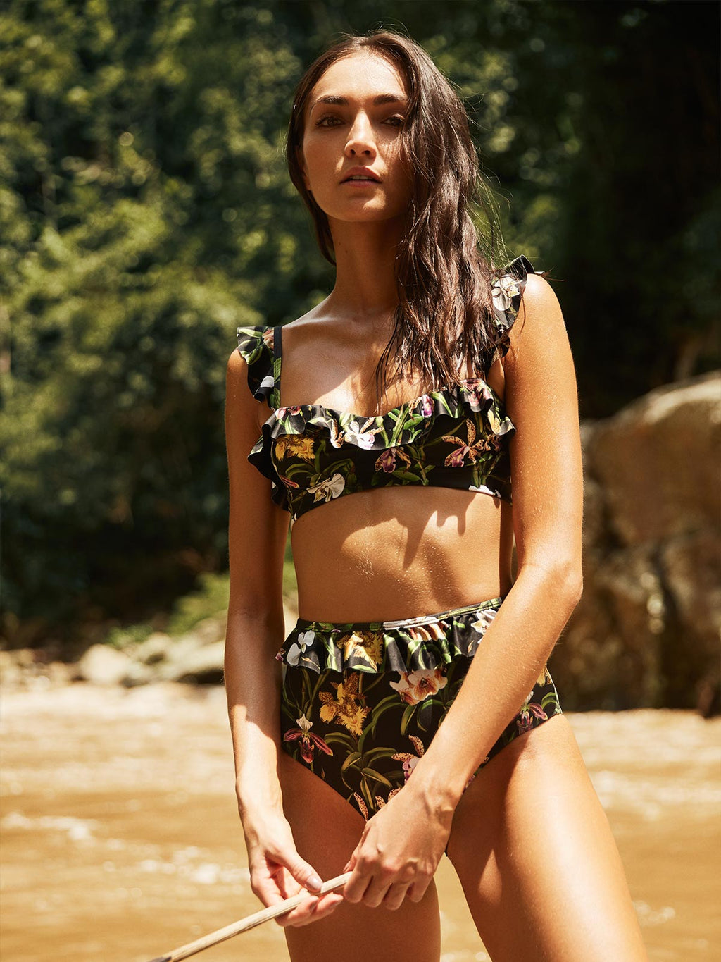 Margot Swim Top | Flora