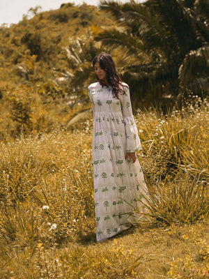 Papaya Maxi Dress | Caribe Papaya Maxi Dress | Caribe