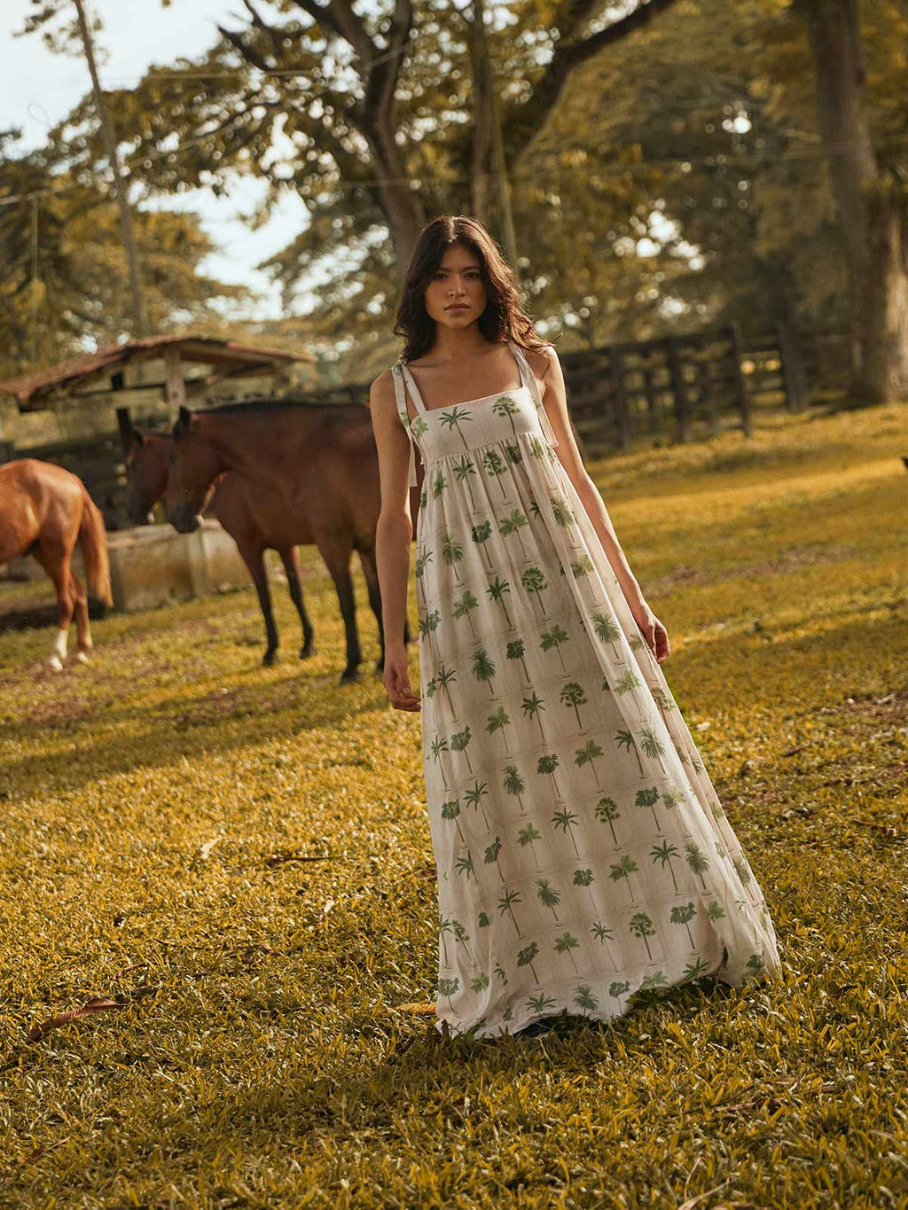 Verbena Maxi Dress | Caribe