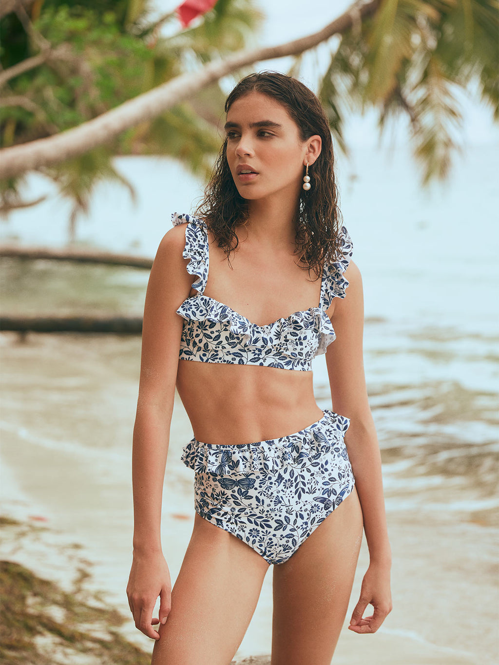 Margot Swim Top | Acuarela
