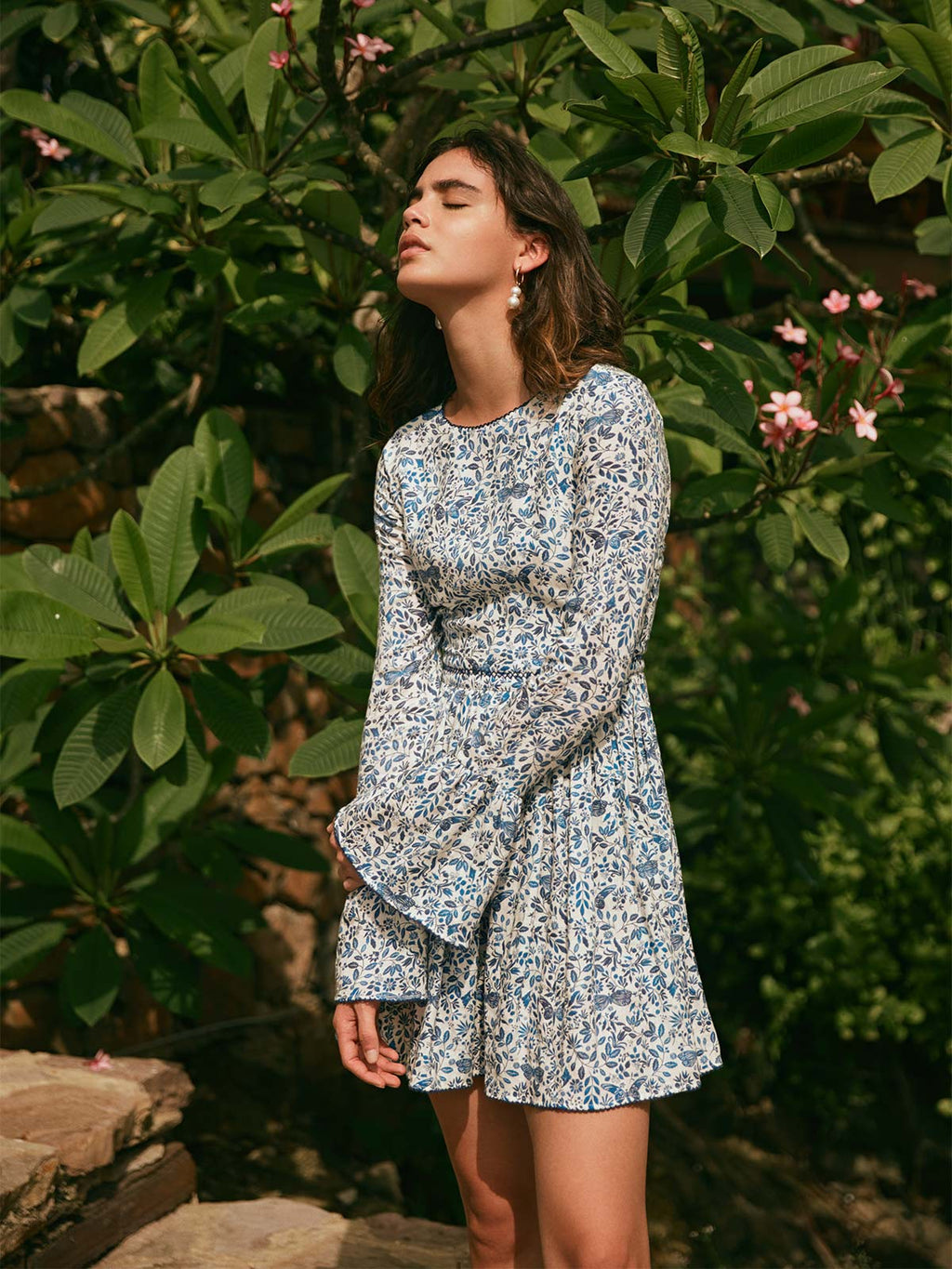 Papaya Mini Dress | Acuarela