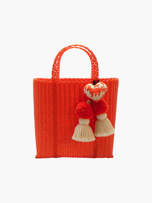 Otomi Beach Tote S | Orange Otomi Beach Tote S | Orange