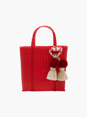 Otomi Beach Tote S | Red Otomi Beach Tote S | Red
