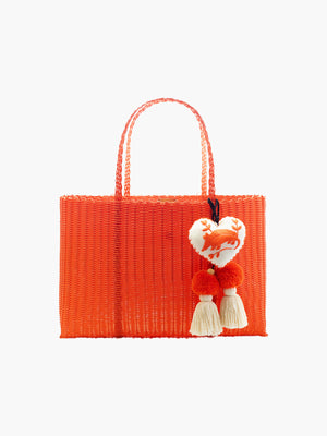 Otomi Beach Tote XL | Orange Otomi Beach Tote XL | Orange