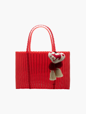 Otomi Beach Tote XL | Red Otomi Beach Tote XL | Red