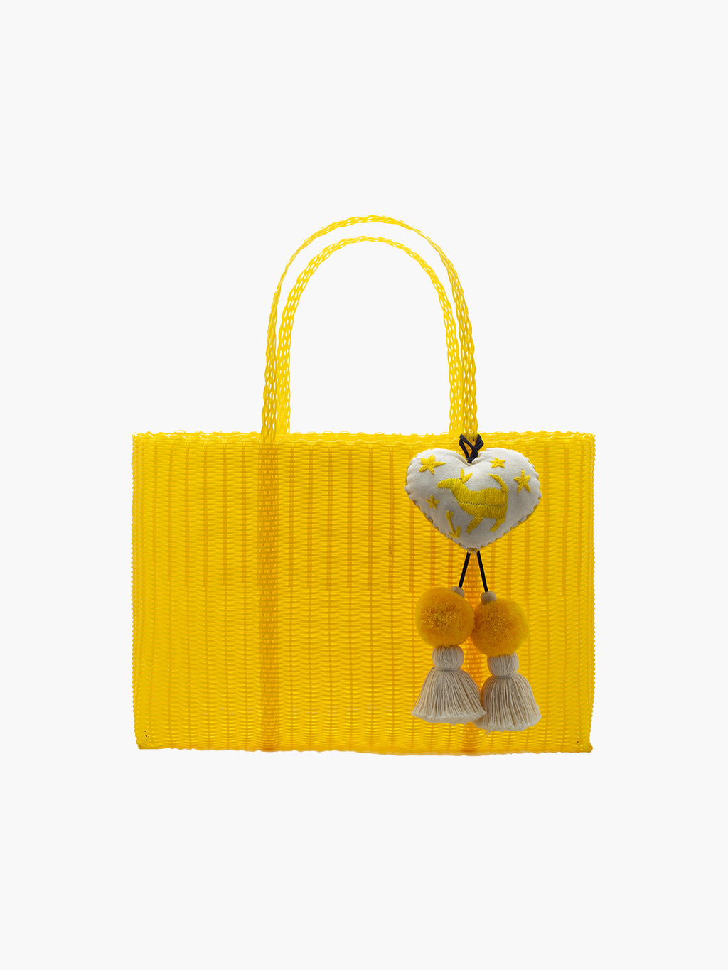 Otomi Beach Tote XL | Yellow