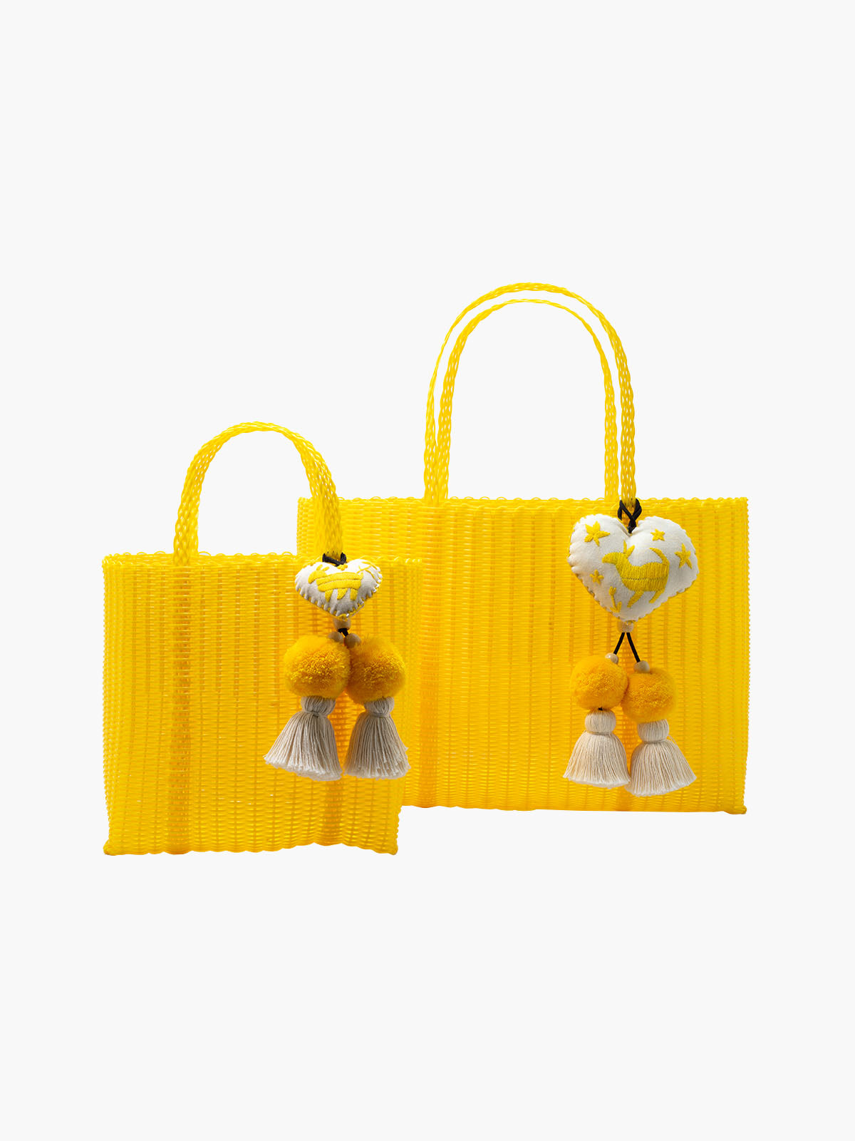 Otomi Beach Tote XL | Yellow Otomi Beach Tote XL | Yellow