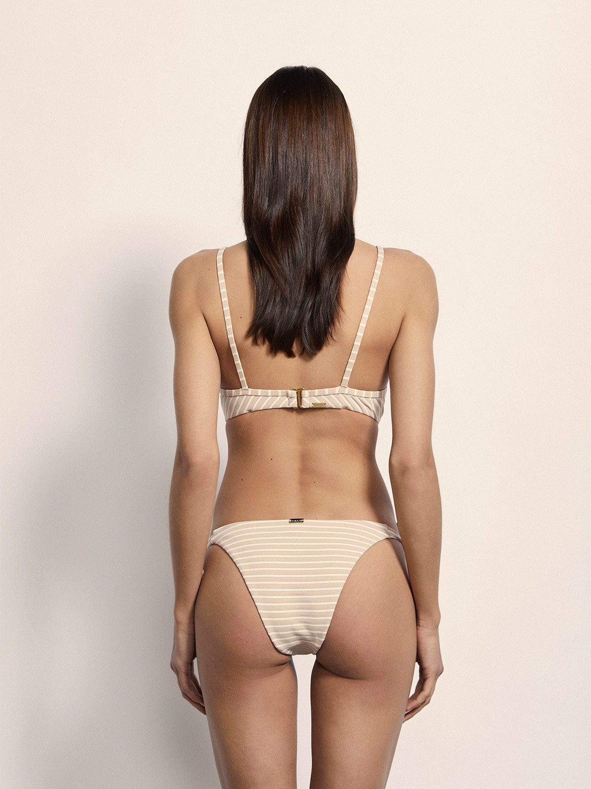 Exclusive Béatrice Bottoms | Nude Stripe Exclusive Béatrice Bottoms | Nude Stripe