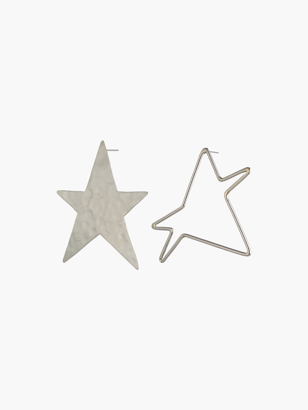 Ying Yang Star Earrings