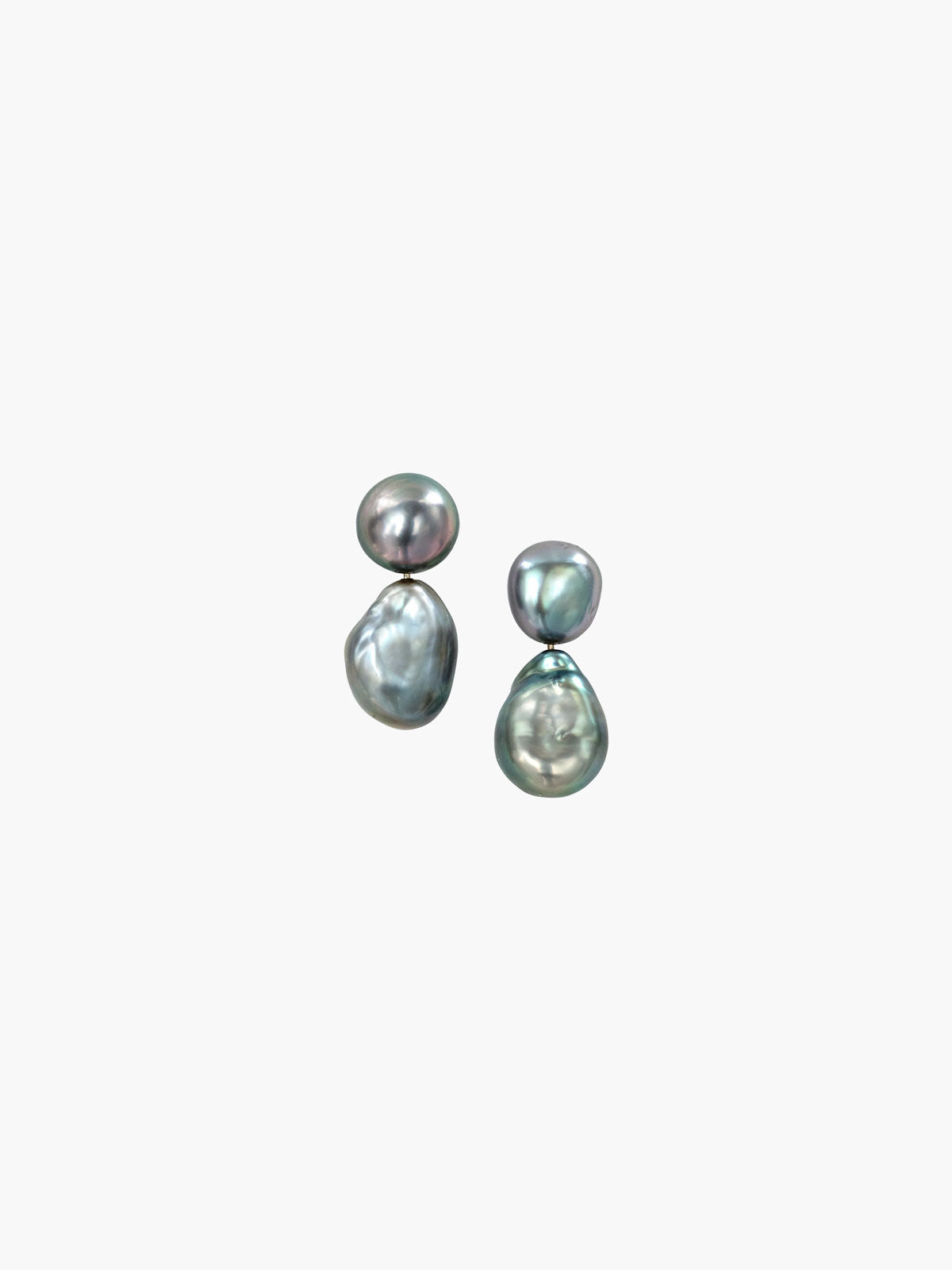 Keshi Fijian Pearl Earrings