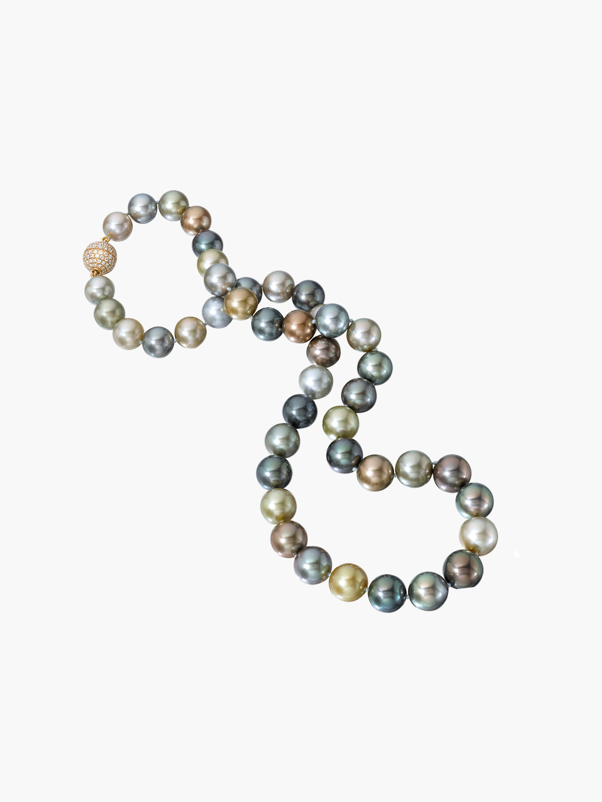 Round Fijian Pearl Necklace Round Fijian Pearl Necklace