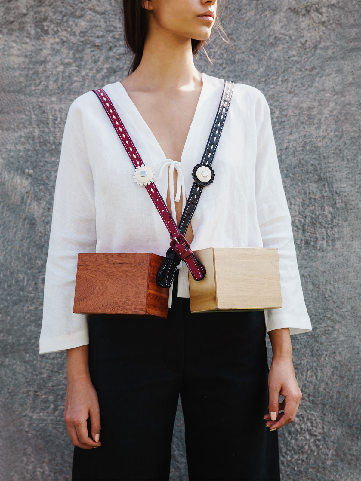 Ladrillo Crossbody Bag | Roble Wood
