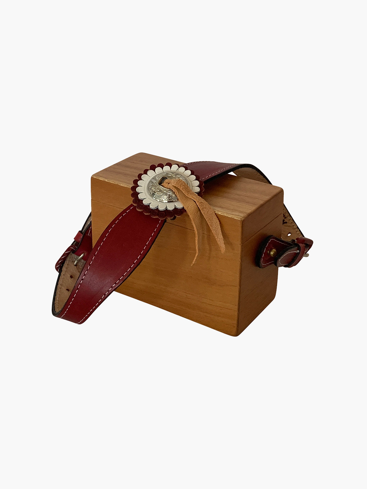 Ladrillo Box Bag | Cedar Wood Ladrillo Box Bag | Cedar Wood