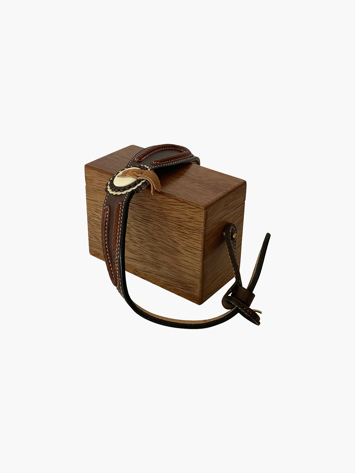 Ladrillo Box Bag | Tornillo Wood