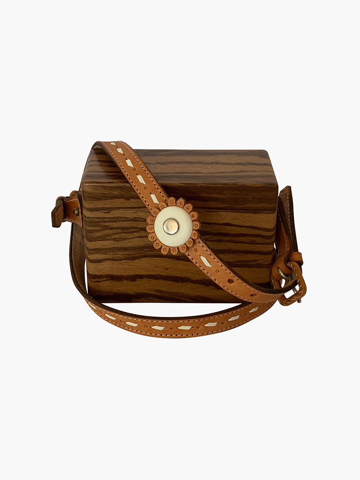 Ladrillo Crossbody Bag | Watengue Wood