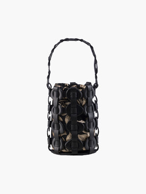 Tagua Bucket Bag | Black Tagua Bucket Bag | Black
