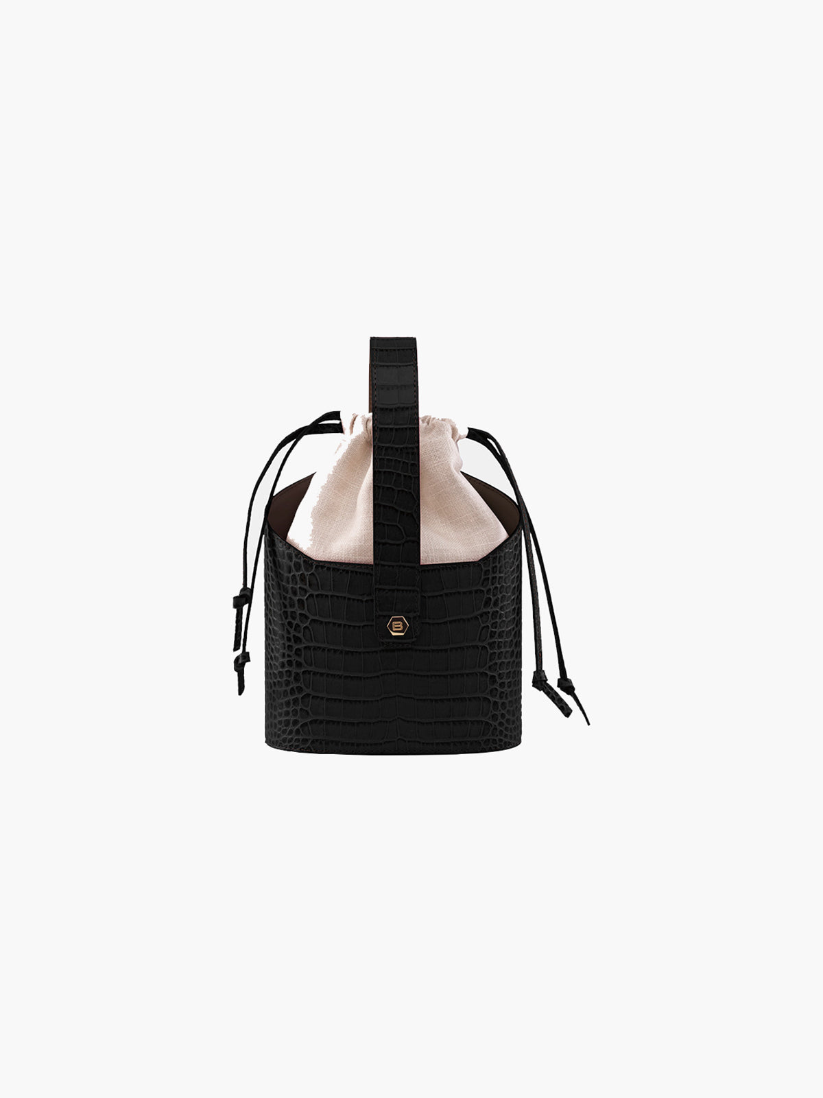 Xienna Bag | Croc Black