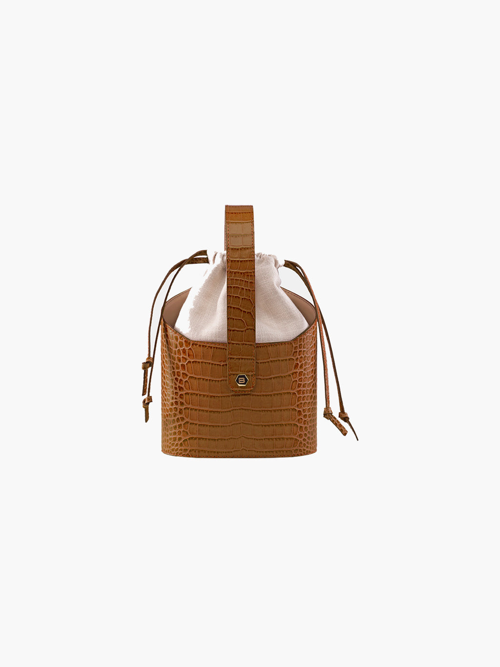 Xienna Bag | Croc Brown