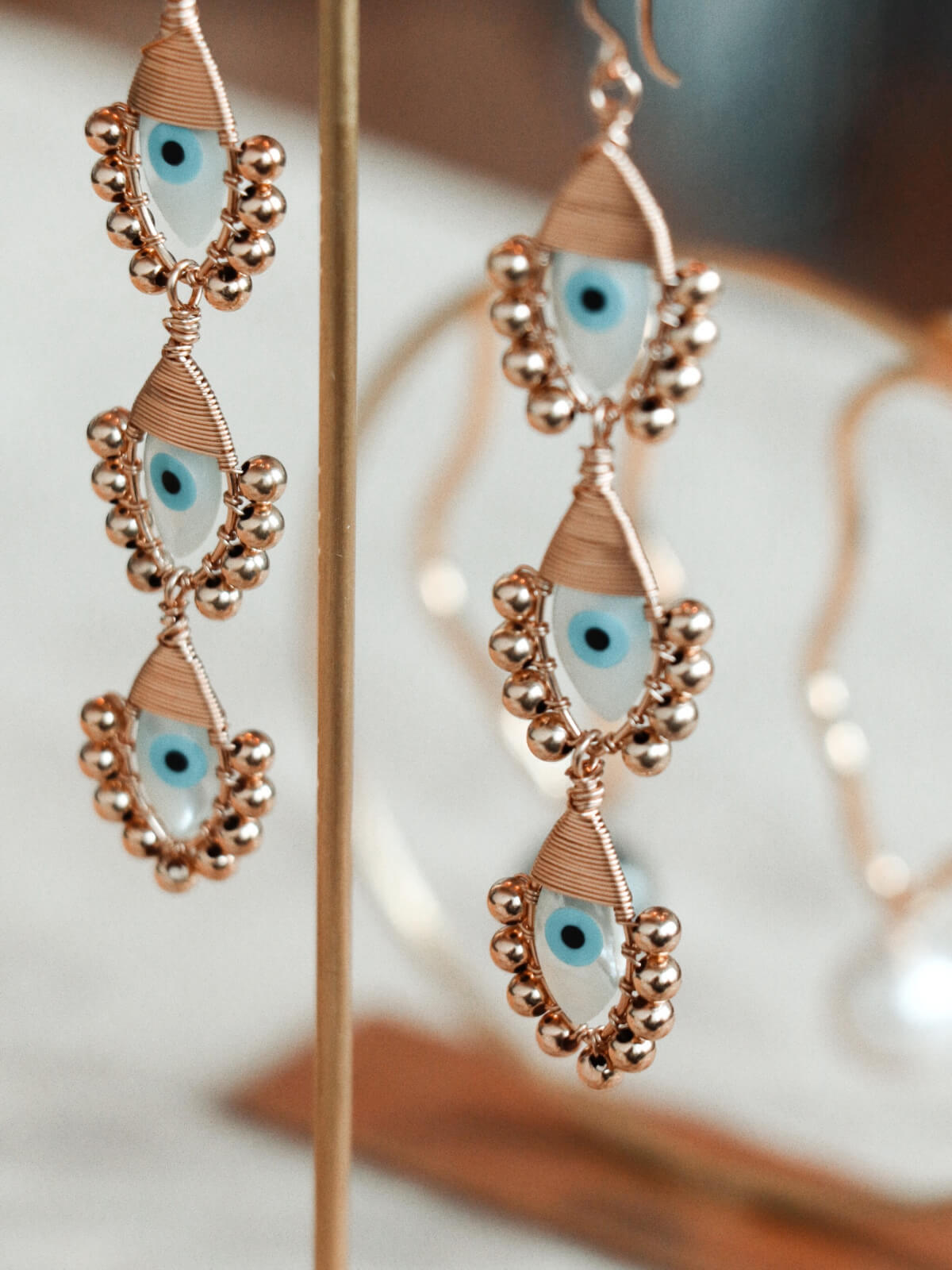 Evil Eye Trio | Gold Evil Eye Trio | Gold