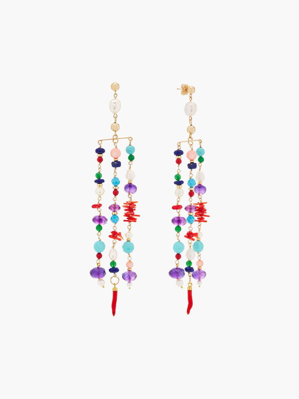 Sa Fonda Cascading Earrings