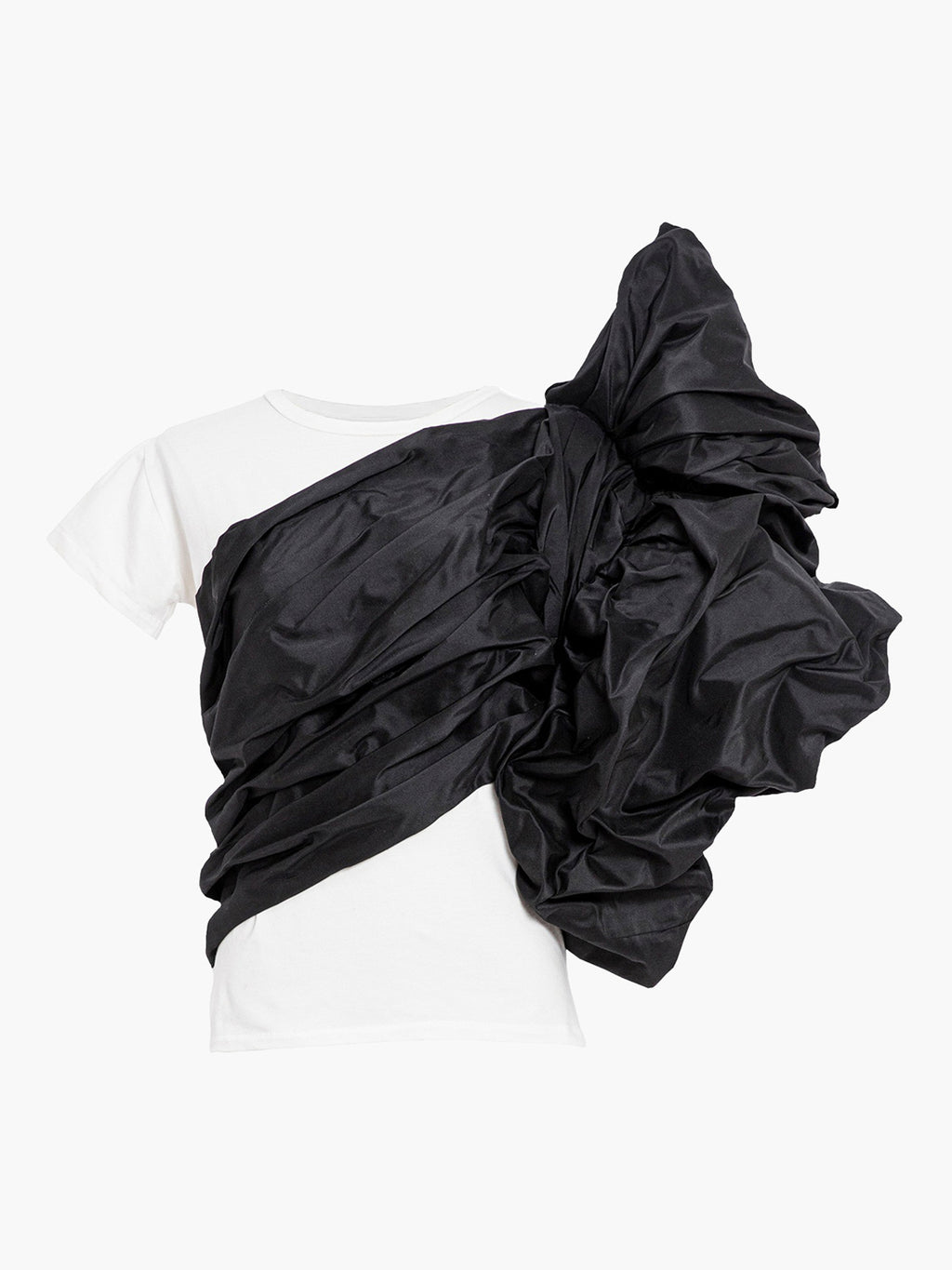 Abolengo T-Shirt | White With Black