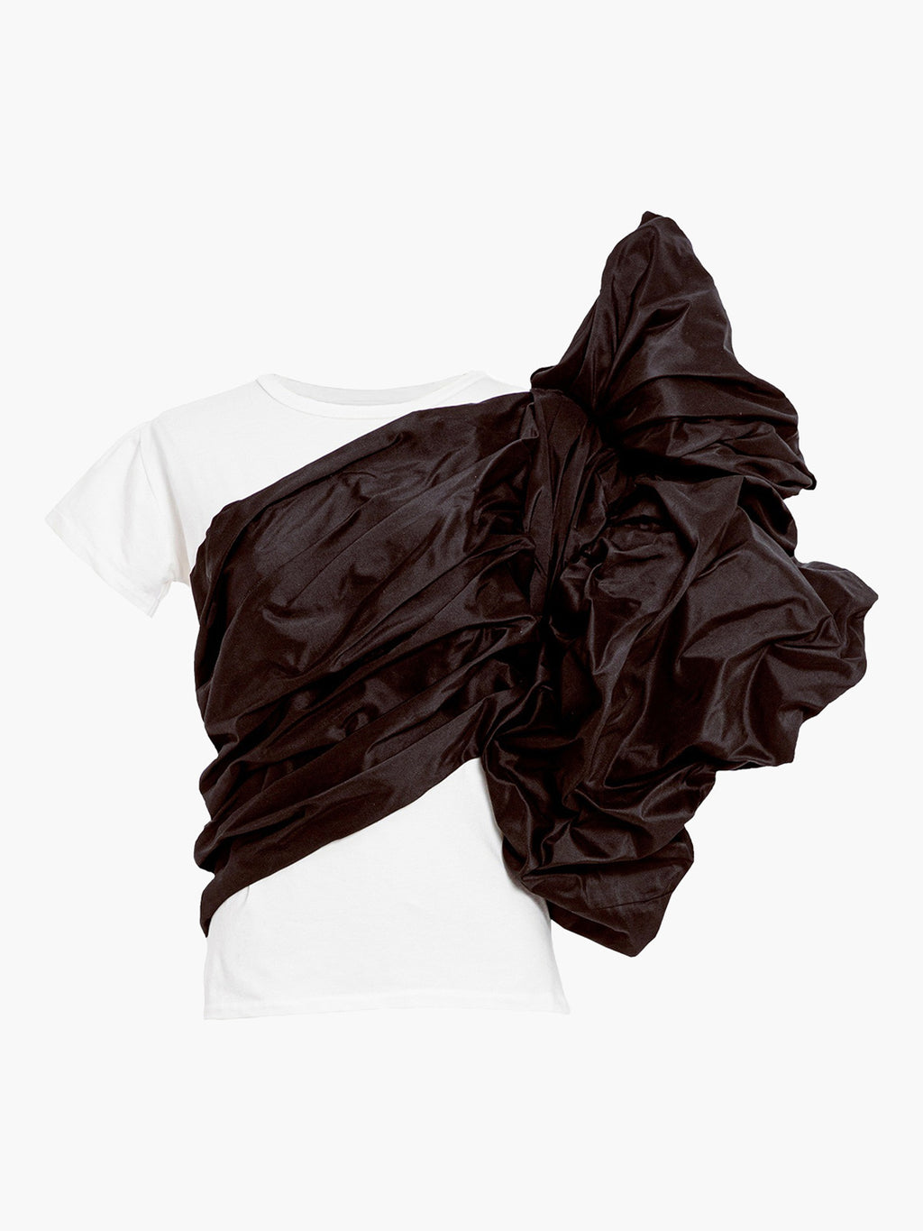 Abolengo T-Shirt | White With Brown