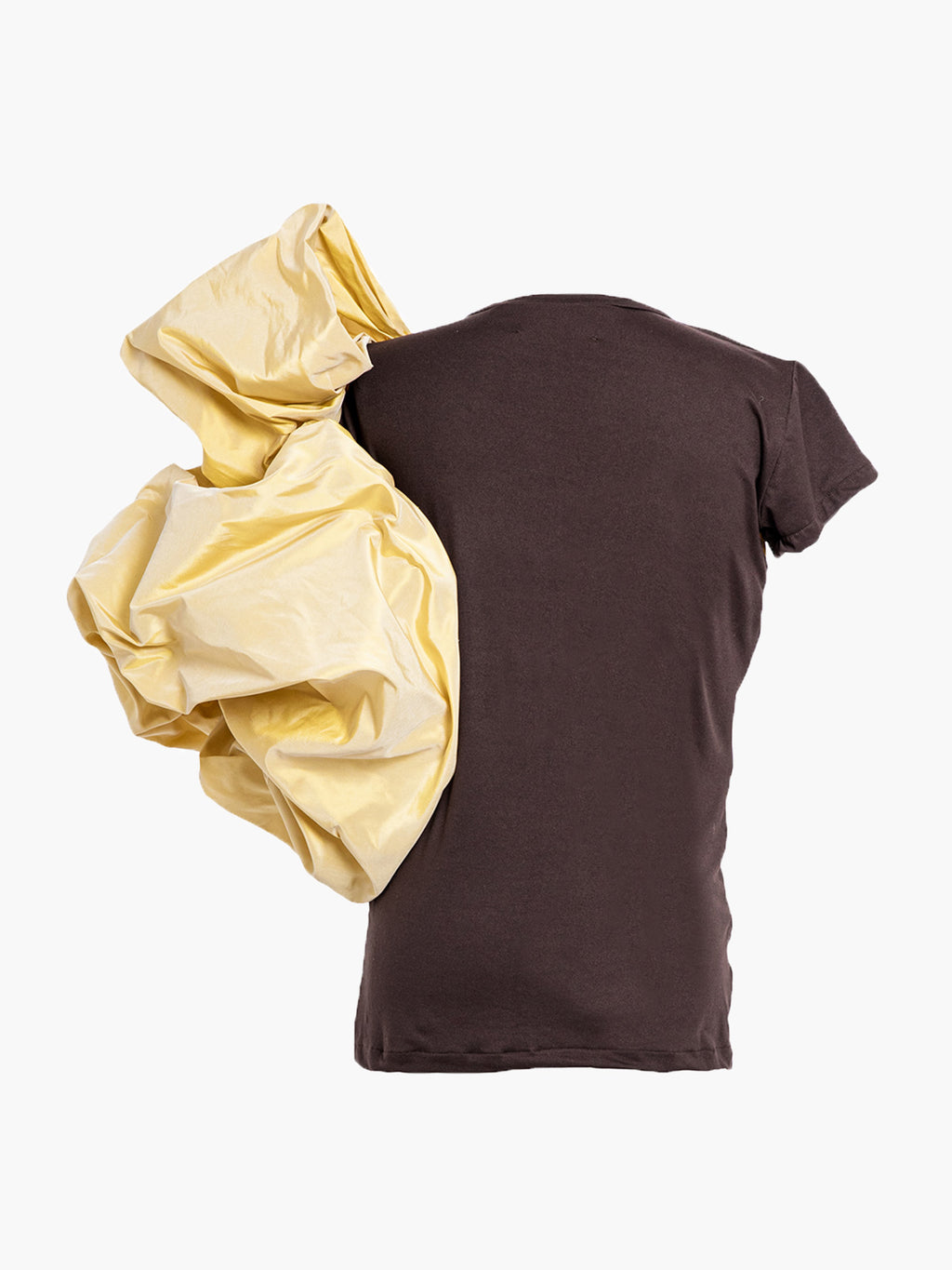 Abolengo T-Shirt | Brown With Yellow