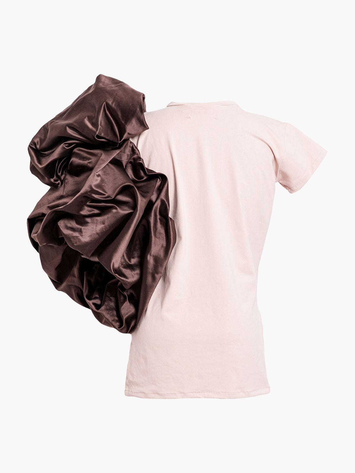 Abolengo T-Shirt | Pink With Brown
