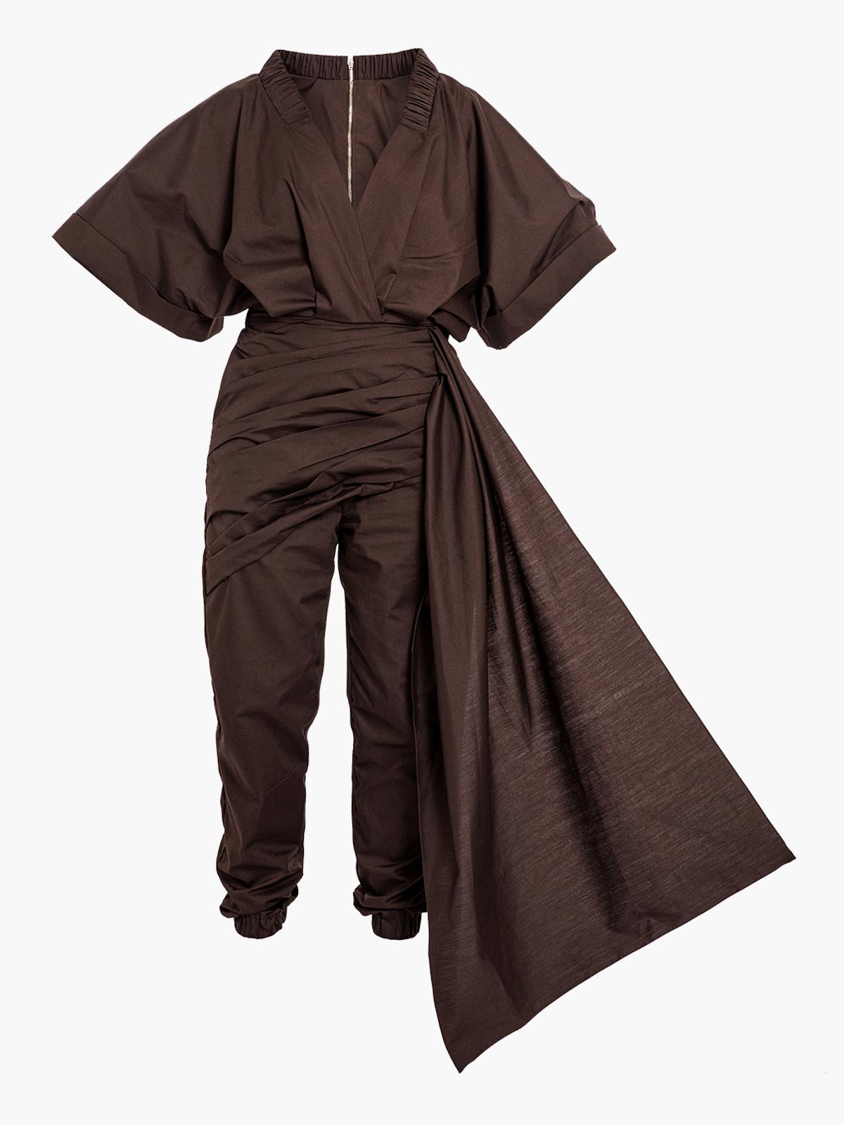 Milagros Jumpsuit | Brown