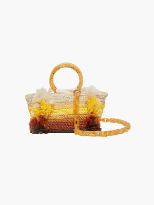 Corallina Handbag | Yellow Natural Corallina Handbag | Yellow Natural