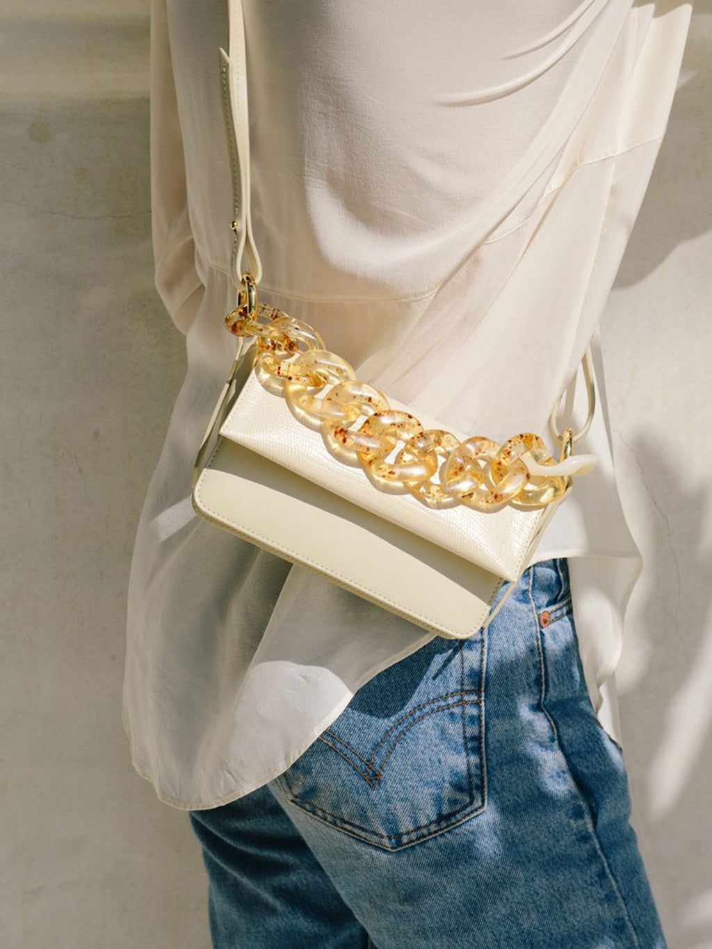 Sofia Micro Crossbody | Off White