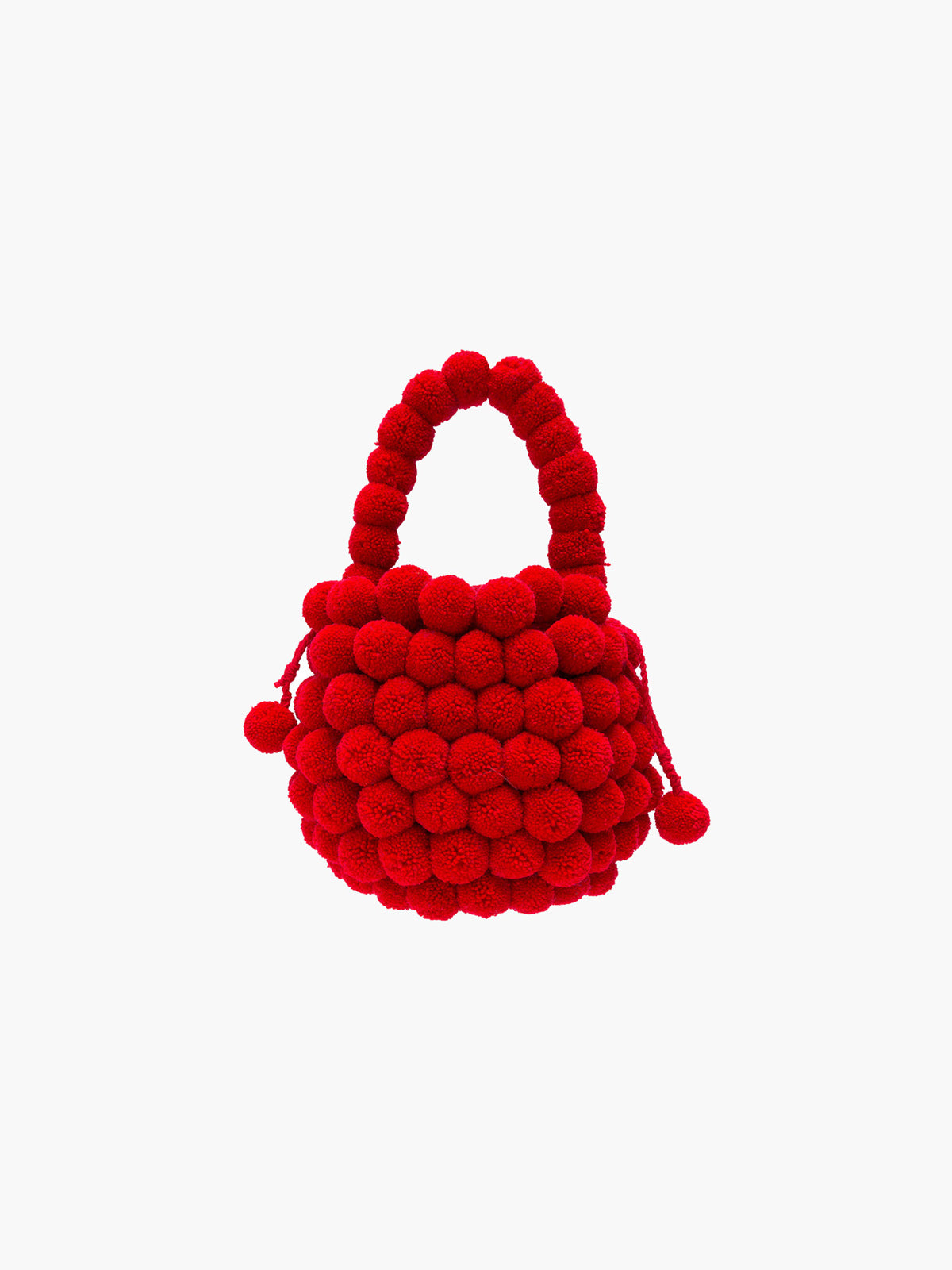 Mochila Multi Pompom Bag | Red