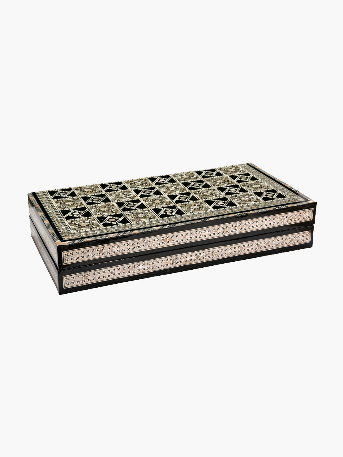 Backgammon Game Table | Black