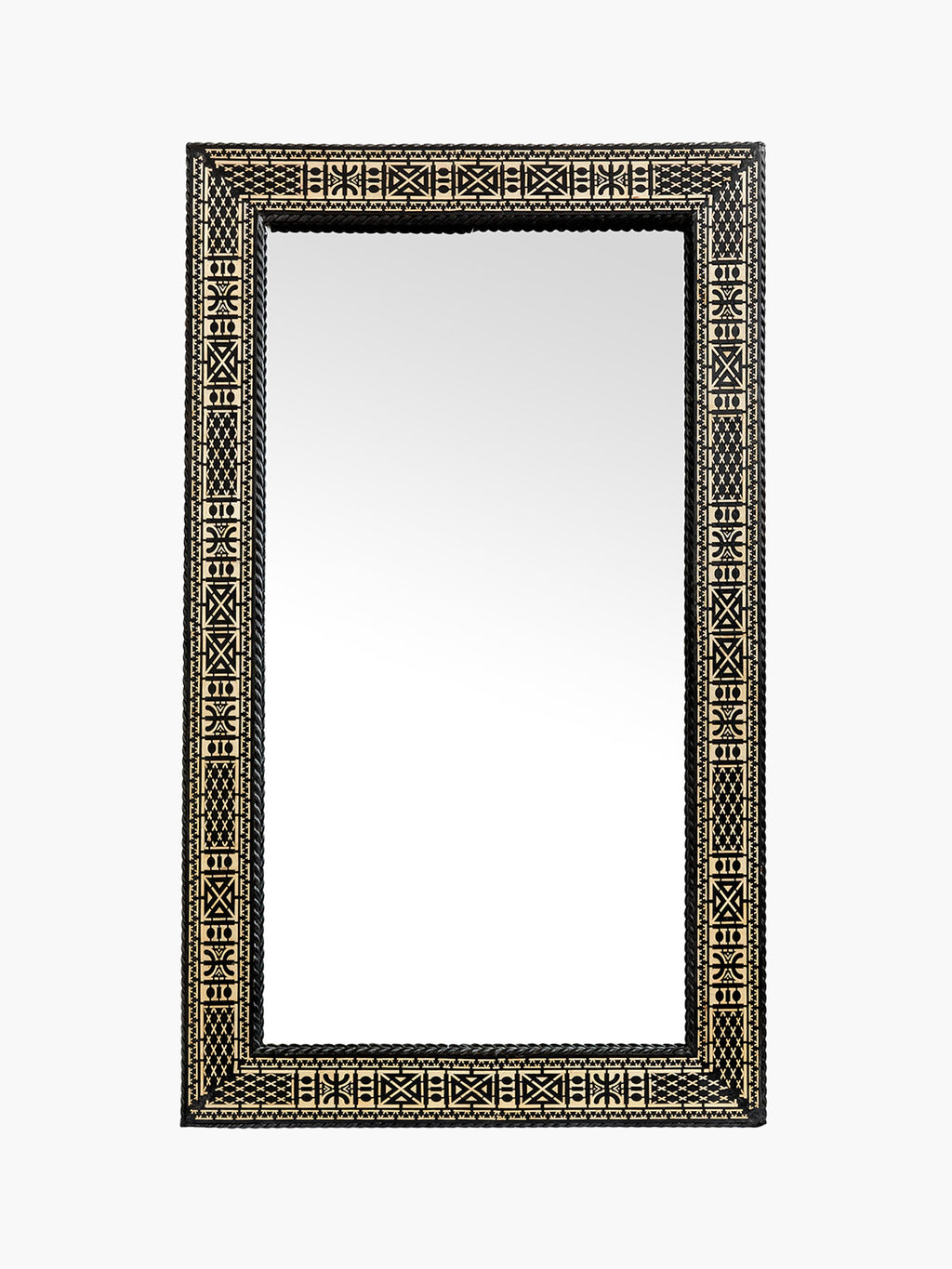 Large Traditional Rectangular Moroccan Mirror