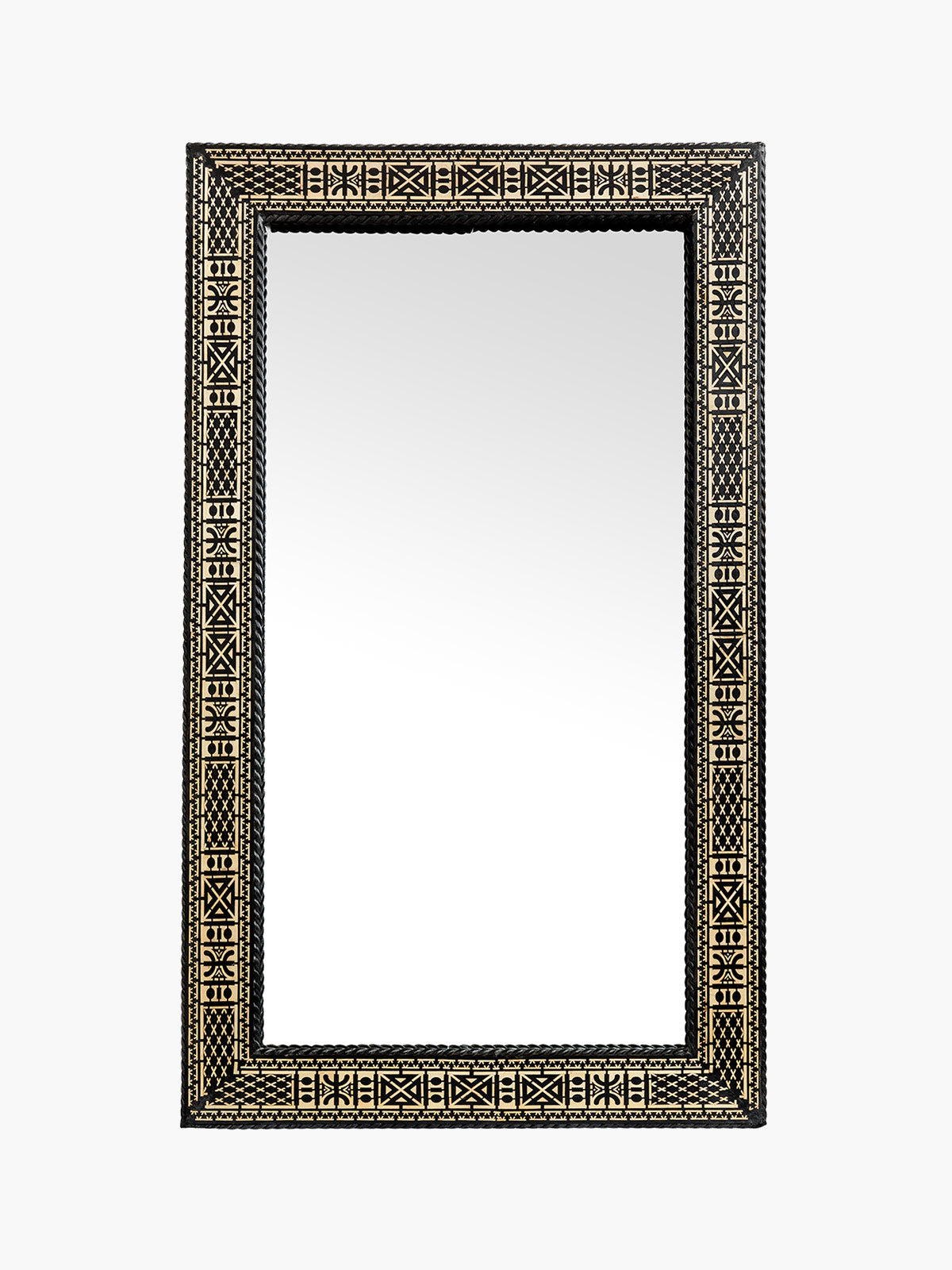 Large Traditional Rectangular Moroccan Mirror Large Traditional Rectangular Moroccan Mirror