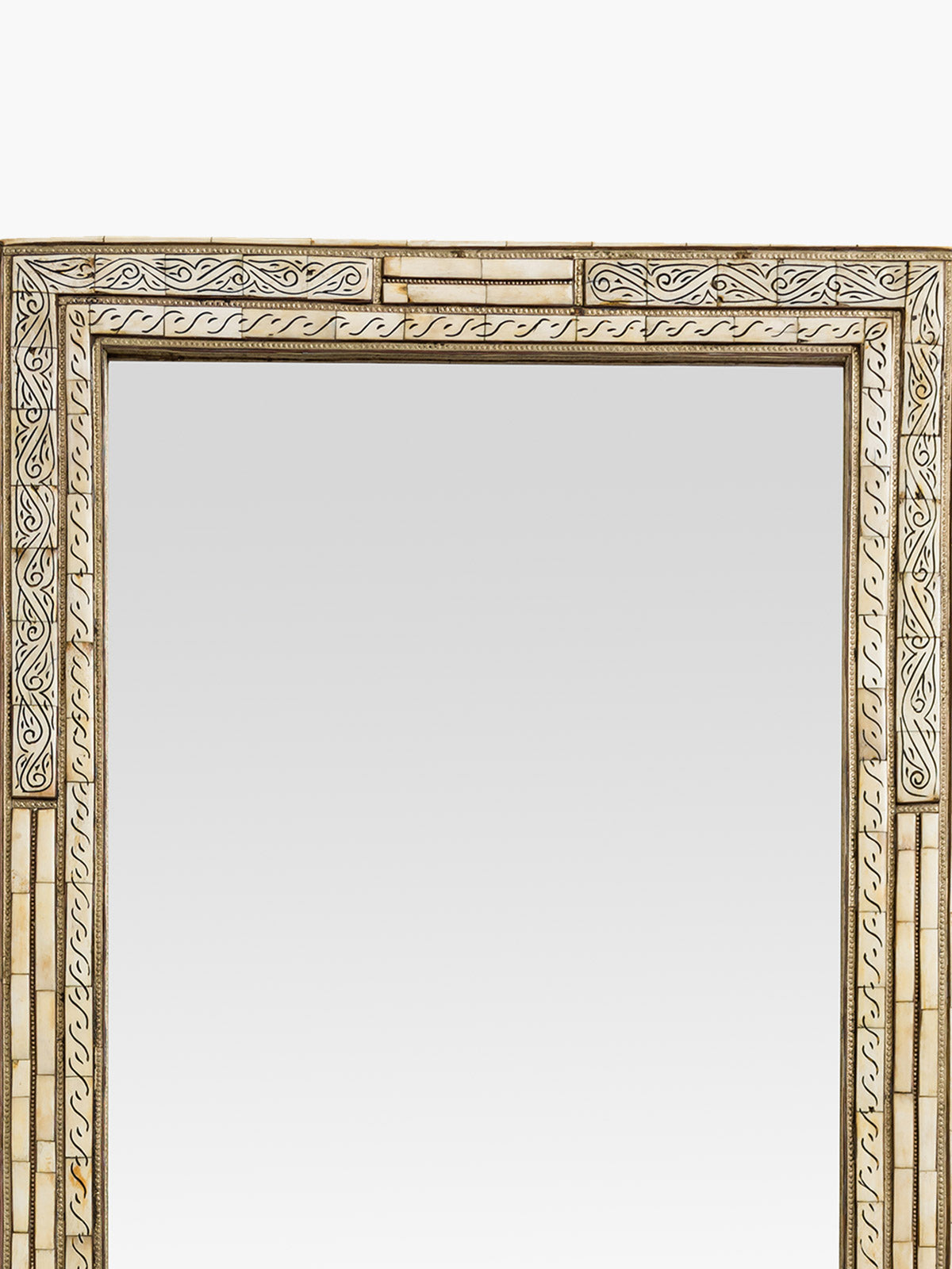 Moroccan Mirror Off White